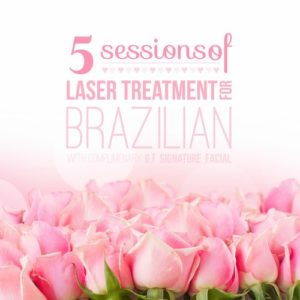 Five Sessions of Brazilian Laser Treatment - Georgetown Rejuvenation