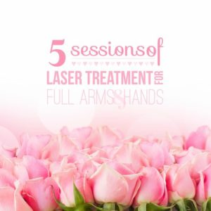 Five Sessions of Laser Treatments for Arms Hands Fingers - Georgetown Rejuvenation