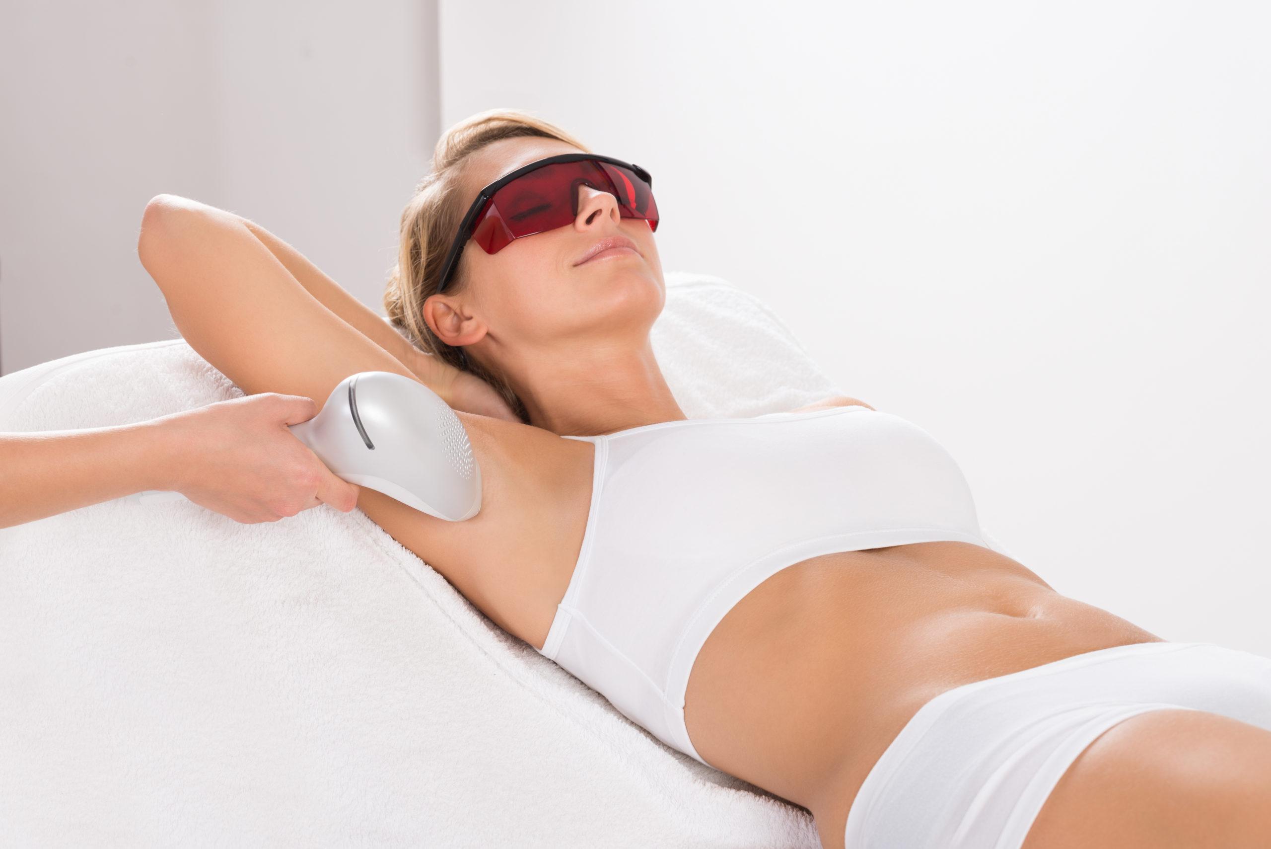 Laser Hair Removal - Underarms & Bikini